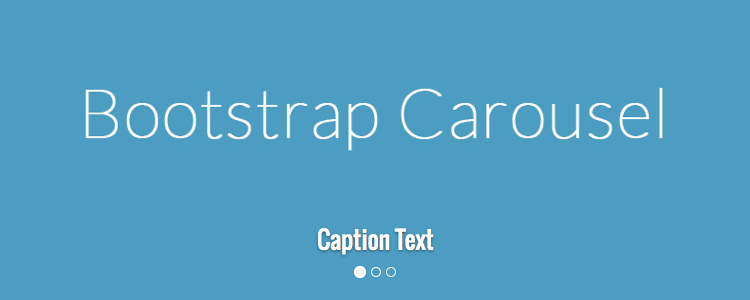 bootstrap 3 carousel