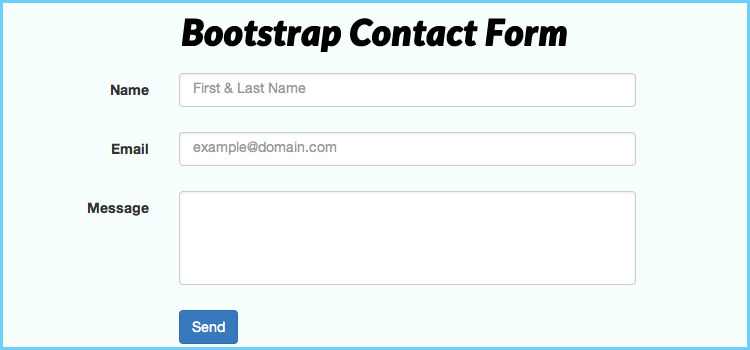 Self validating forms php and mysql