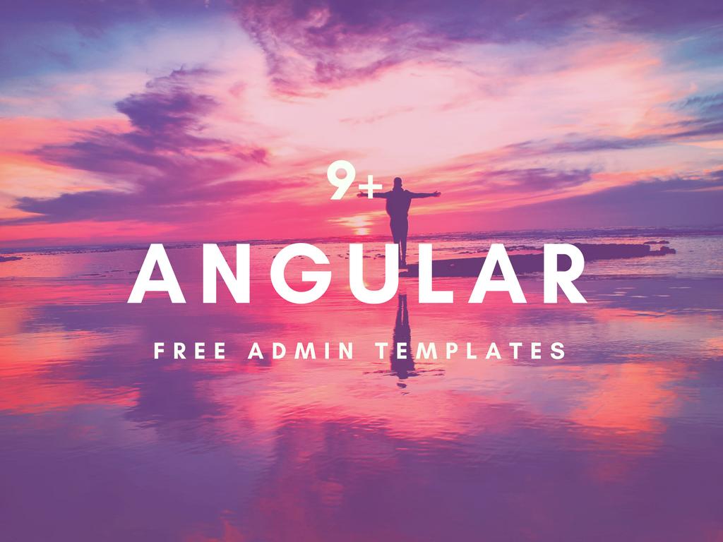 9+ Free Angular Dashboard Templates