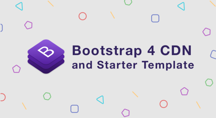 Day 1 Bootstrap 4 Cdn And Starter Template Bootstrapbay