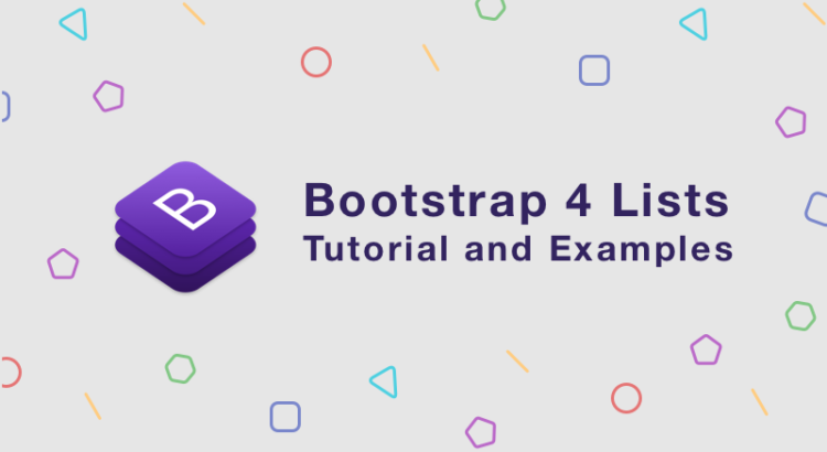 bootstrap-4-lists