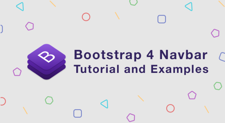 how to create a navigation bar in html using bootstrap